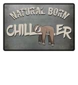 natural born chiller Fußmatte Faultier