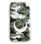 Kamuflaj Türk Bayragi Iphone Case Model2