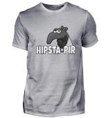 Hipster Tapir Hipsta-Pir Bart Geschenk