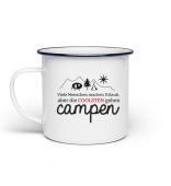 Camper / Camping: Coole Menschen gehen campen