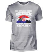 Keine Therapie, nur nach Kroatien!
