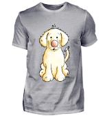 Happy Golden Retriever Welpe - Hund