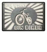 wohnt ein Biker MTB Fahrrad Radfahrer