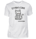 kitty wants a corner