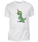 Funny Ice Cream Cone Dino Unicorn Gift