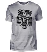 Azteken Kunst Vogel