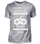 Saarland - Knepp drigge - Shirt