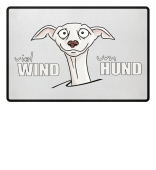 viel Windhund Fussmatte