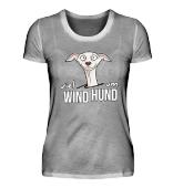 Viel Wind um Hund Windhund Geschenk