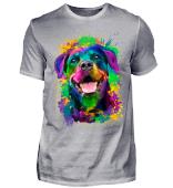 PoPArt ROTTWEILER Hunde T-Shirt