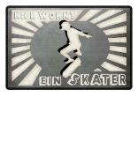 wohnt ein Skater Skateboard