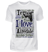 I love Airedale Terrier T-Shirt