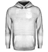 Die Denkedrans Hoodie Logo `99 white print