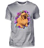 Leonberger Comic Hunde T-Shirt