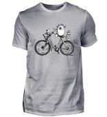 Biking Katze - Cat - Fahrrad - Geschenk