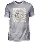 Biken ist mein Leben Radfahren retro