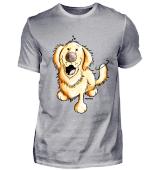 Happy Golden Retriever - Hund