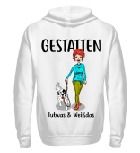 Gestatten; Tutwas- Backprint Hoodie&Sweats.,b-color