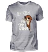 Otterly My Spirit Animal Otter Pun Gift