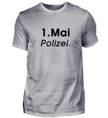 1. Mai - Polizei (Schrift schwarz)