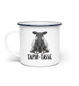 Schöner dicker Comic Tapir Tasse