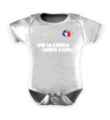 Babystrampler oder Lätzchen-immer links