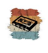 Retro Mixtape Vintage Kassette Sticker