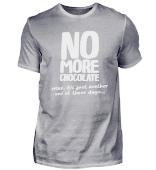 keine Schokolade mehr