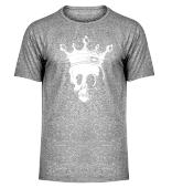 Totenkopf mit Krone Monarchie