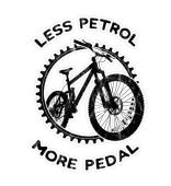 Less Petrol Biking Öko Bike MTB Sticker