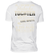 PAPA HUBSCHE TOCHTER ACHTUNG T-SHIRT FAMILIE