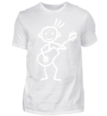 Gitarrist in Aktion