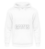 Classic Games Cafe BW Hoodie