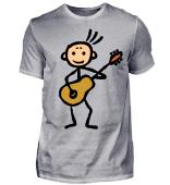 Gitarrist mit Gitarre