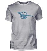 Raptor Velociraptor Dino Logo Blau