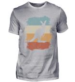 Retro Känguru Silhouette Kangaroo Gift