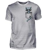 Hipster Katze in Tasche Cat in Pocket
