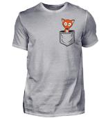 Süßer Fuchs in Tasche | Cute Fox in Pocket