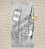Dosenbier Saufnn!! Badetuch&Leinwände