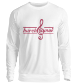 hurch@mol - Unisex Sweater Frontprint