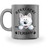 West Highland Terrier Herrchen Tasse