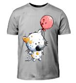 Katze mit Ballon