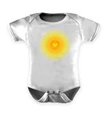 Baby Body u Shirts Sonnenherz Herz Sonne