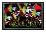 Horrorclown Welcome Fussmatte