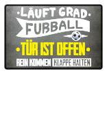 Fußmatte Fußball läuft grad
