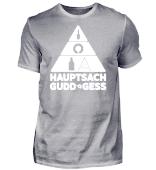 Saarland - Ernährungspyramide - Shirt