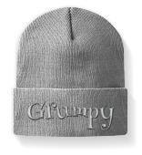 grumpy grummelig Wintermütze Geschenk
