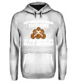 Therapie Holz - Holzfäller Shirt