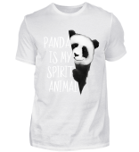 Panda Is My Spirit Animal Pandabär Gift