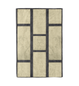 Tatami Print Design with Bamboo Inkpaint